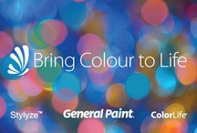 Bring Colour to Life Weekly Contest! / Show us what inspires you and you can win design advise and free paint from General Paint! ENTER here >> www.canadasgotcolour.com