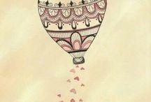 mongolfiera tattoo