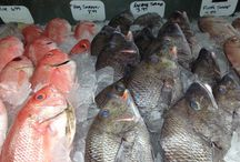 Fall Product / We have a great selection of delicious fish for you this fall. Fall brings in spots, croaker, Virginia Mullet, and in-shore flounder.  Don't forget, fall is the season for oysters!  We have a variety of  great tasting oysters that are sure to please.