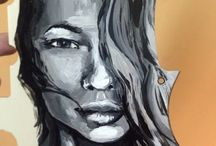 By Lucille / Artworks  Oil