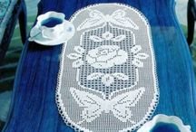 Filet Crochet - Doilys