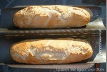 Bready Bread Bread / Bread (mainly Gluten Free & Sourdough) and other bread-like entities like pancakes, crackers, pie crusts, etc.,