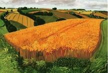Y08 Landscape - David Hockney