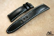 MKLeathers: hand made watch straps