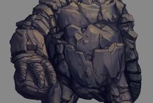 Golems / Pictures of Golems