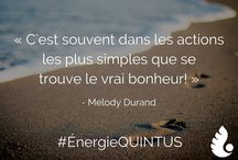 Citations #ÉnergieQUINTUS l Quotes full of #QUINTUS'Energy