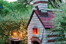 """Did someone say """"Pizza""""? / Who wouldn't want an outdoor oven?"""