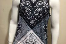 robe foulard cowboy