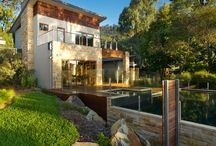 Bushfire resistant / Stylish house designs using fire-resistant building materials.