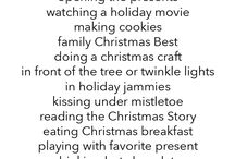 Christmas todo list