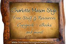 charlotte mason / by Dana Carlton
