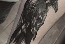 Tatuagem corvo