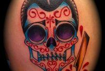 De Los Muertos Tattoos