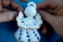 Crochet Christmas Angels