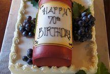 torta panna bottiglia
