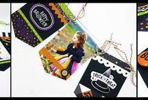 Lisa's Picks Projects: Trick-Or-Treat Kit / Featuring the Halloween paper-craft and scrapbooking kit by Lisa Bearnson for Anthology DIY.