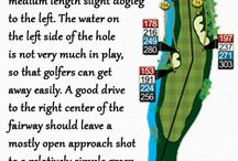Course Guide 3D / Guide of 18 holes in 3D version