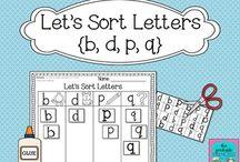 Kindergarten Letters / Beginning sounds