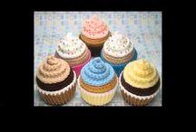 crochet  cup cakes & desserts