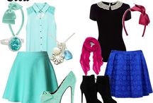 Elsa and Anna dress