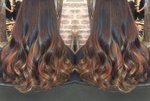 Autumn/Winter #2016 / Autumn/Winter Hair Transformations #2016