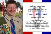 Scout stuff / Ideas for Zach's Eagle celebration