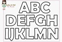 alfabeto feltro