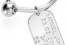 Cufflinks & Keytags / http://www.koolamandesigns.com.au/shop/silver-cufflinks-keytags-c-141.html