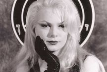 Zeena LaVey, daughter of Anton LaVey. She was High Priestess of the Church of Satan from 1985 to 1990