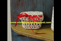Crochet bordini e centro tavola