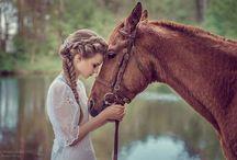 С лошадью