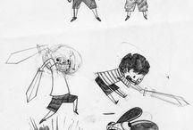 Character design/ graphic novel