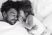 DADDIES / Nothing makes a mum melt more than a dad.  Father son daughter babies parents love family
