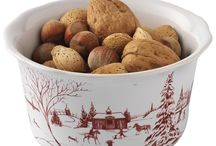 Holiday Juliska Pottery at Ann Marie's / Join us at Ann Marie's online this holiday for an enormous and stunning collection of Juliska Pottery for the holiday including the Country Estate Winter Frolic pieces.