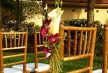Inspiration: Flowers & Chiavari Chairs