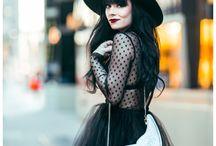girly goth♥