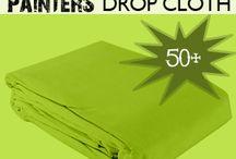 Drop cloth DIY...