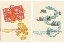 serigrafia illustrazioni