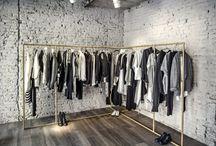 Лофт дизайн магазина