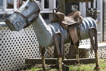 RECYCLED YARD ART / by Shed to Hand