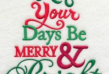 Christmas Embroider Designs