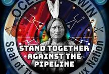 stand together against the pipeline