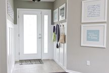 Entryway / by Katie @ Living With Littles