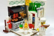 Лего комнаты