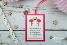 Flamingo Weddings / Weddings with a little bit of flamingo styling!