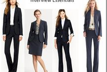Interview Attire - Women / How to dress for a job interview / by BMCC Center for Career Development