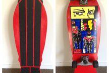 Flatman DIY skateboard / Superhero skateboard