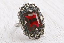 Jewelery: Red Gems!