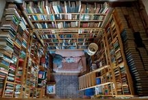 Places to Read / We all have that special place where we fall into the pages of our favourite books...