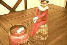 Elf on a shelf Christmas for Grant !